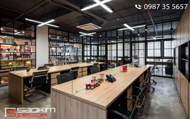 Mẫu thiết kế nội thất văn phòng, cách thiết kế nội thất văn phòng
