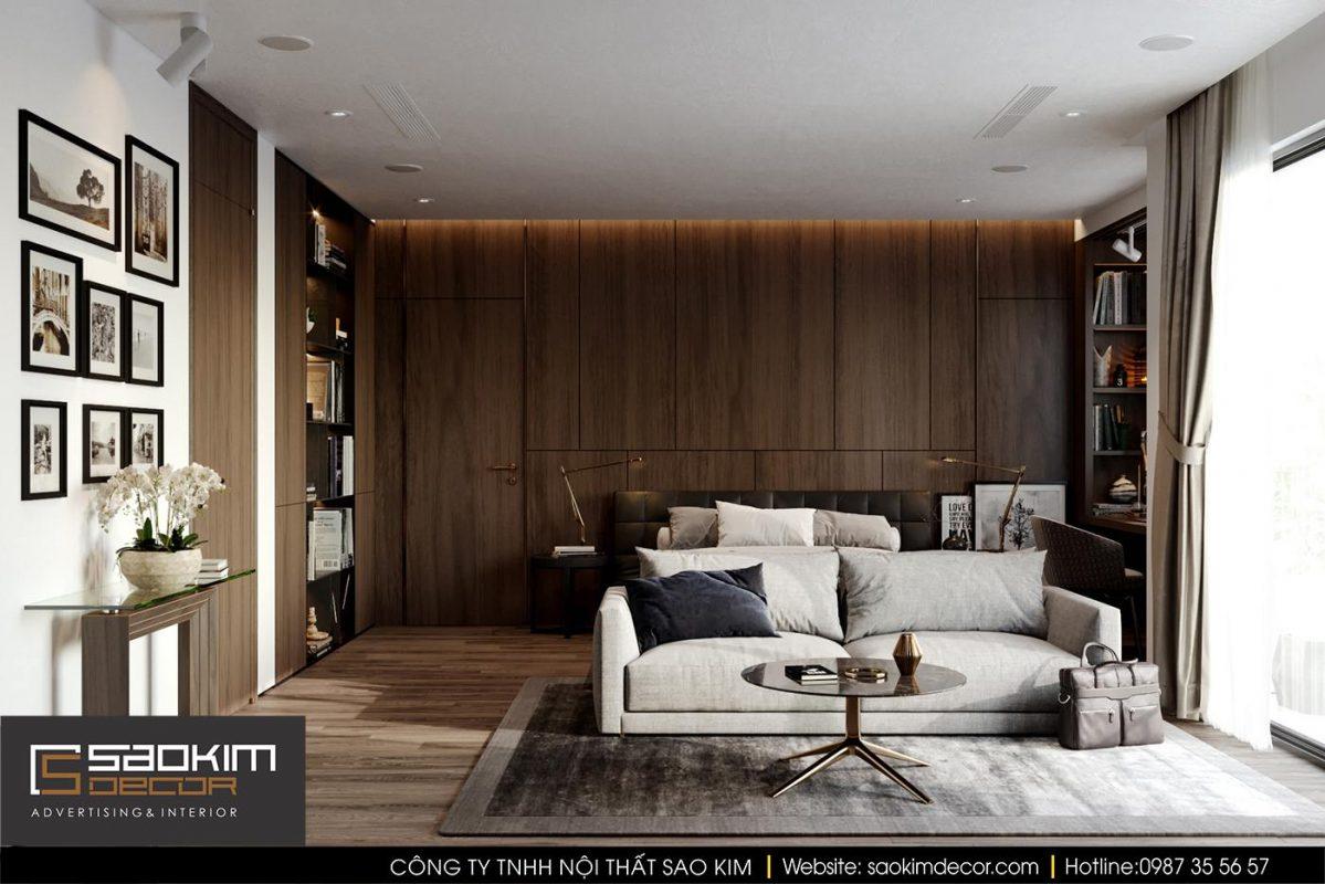 Phòng khách đa năng tại căn hộ chung cư
