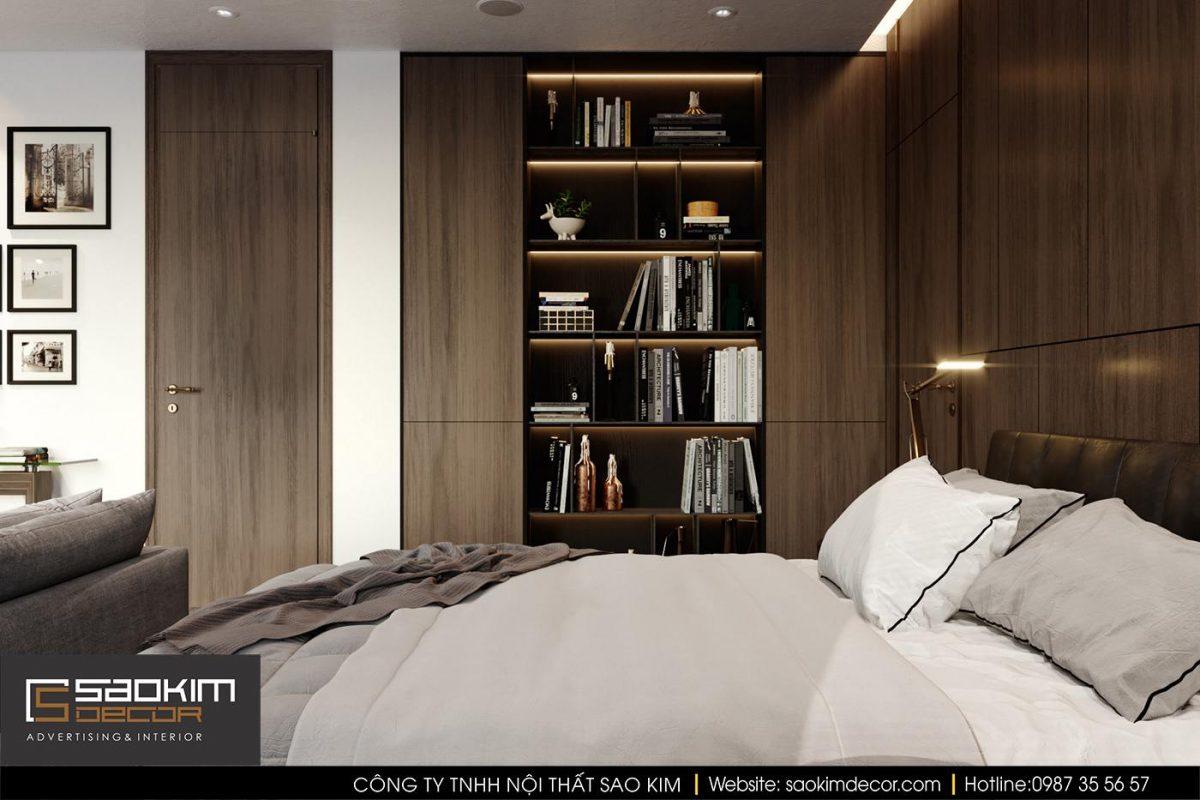 Thiết kế nội thất phòng ngủ cho vợ chồng
