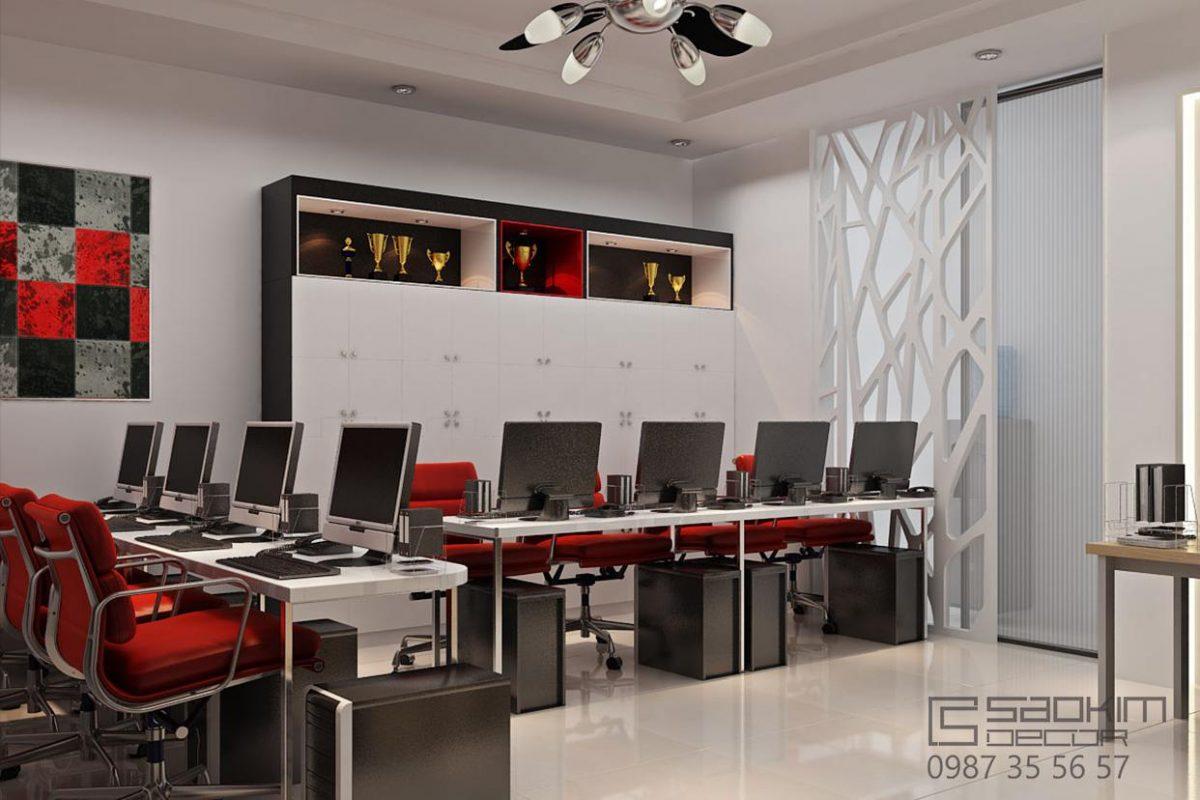 Thiết kế nội thất văn phòng Hà Nội - Prudential