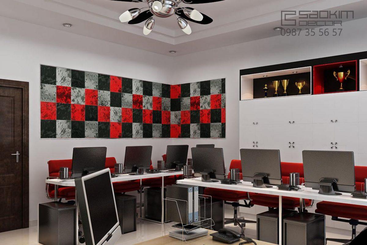 Thiết kế nội thất văn phòng nhỏ - Prudential
