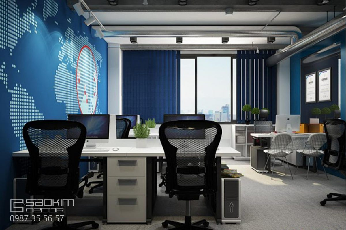 Thiết kế văn phòng đẹp - Petrosetco