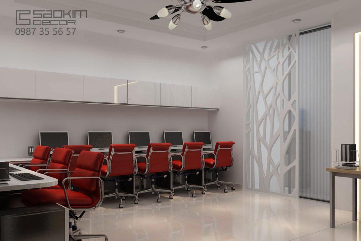 Thiết kế văn phòng chuyên nghiệp - Prudential