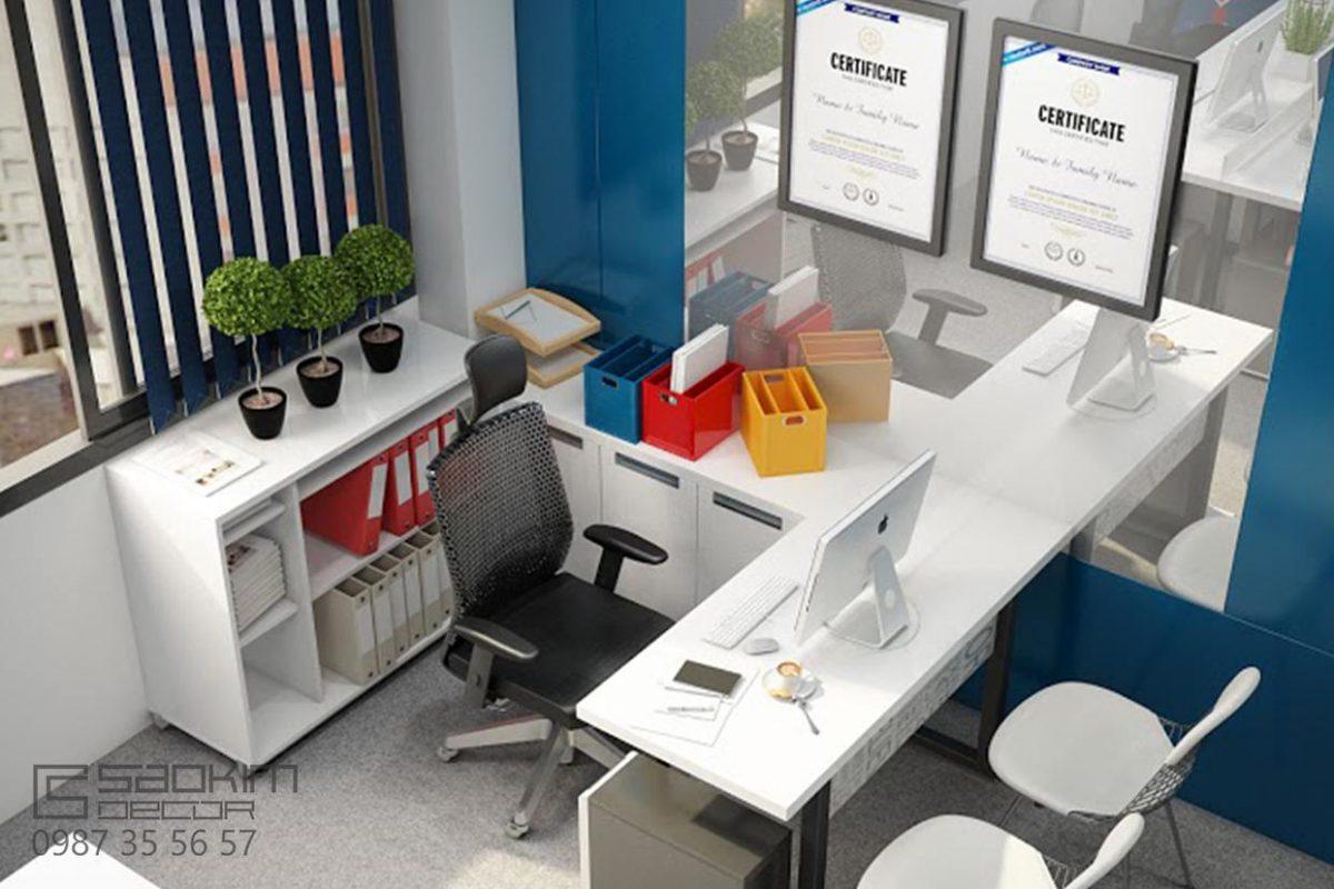 Thiết kế nội thất văn phòng đẹp - Petrosetco
