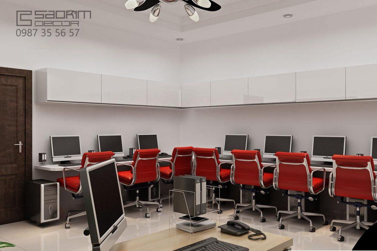 Thiết kế văn phòng Hà Nội - Prudential