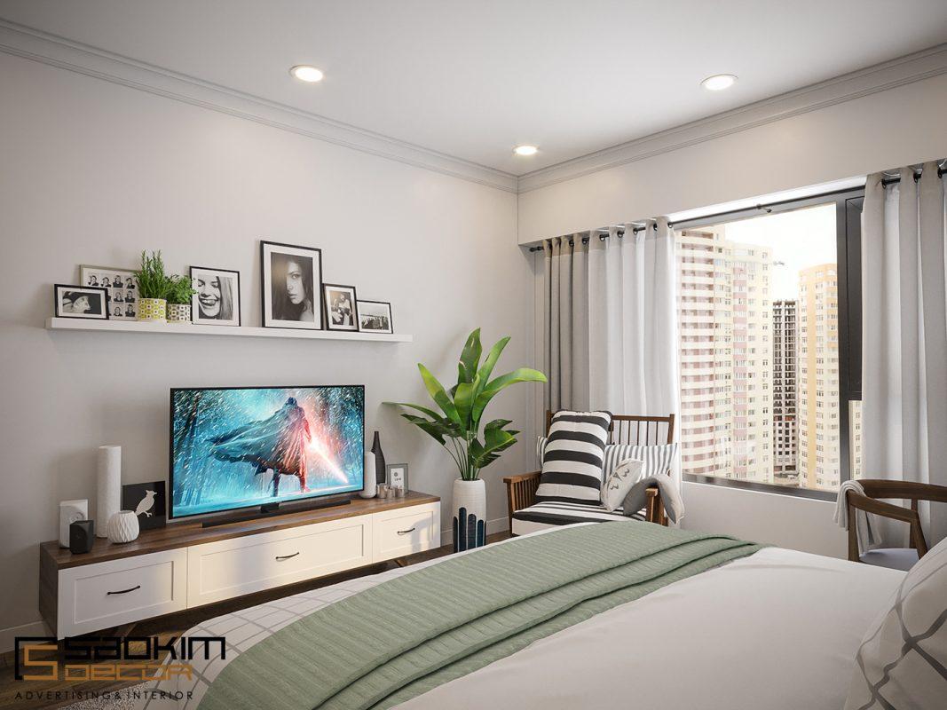 Thiết kế nội thất chung cư theo phong cách scandinavian rất coi trọng và hướng đến thiên nhiên