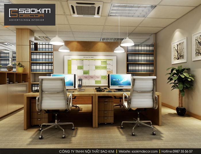 Mẫu thiết kế văn phòng đẹp - Tập đoàn quốc tế ABC