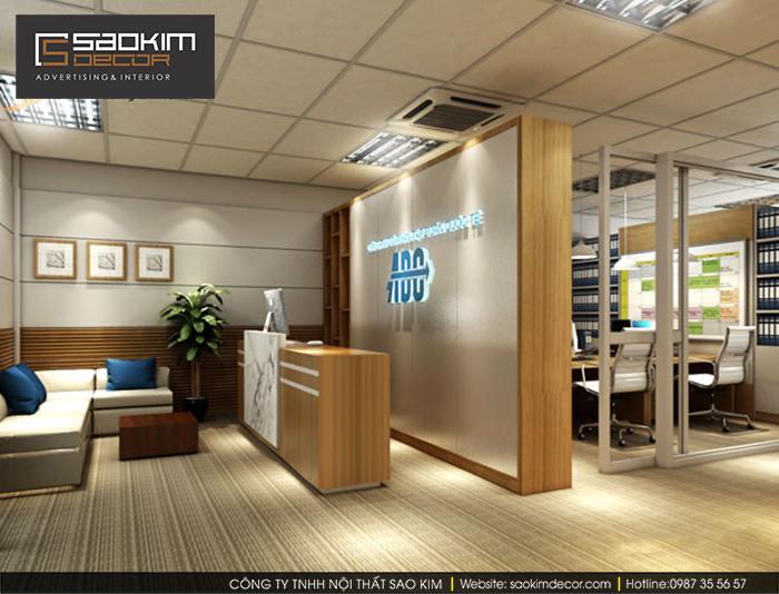 Thiết kế văn phòng Tập đoàn quốc tế ABC