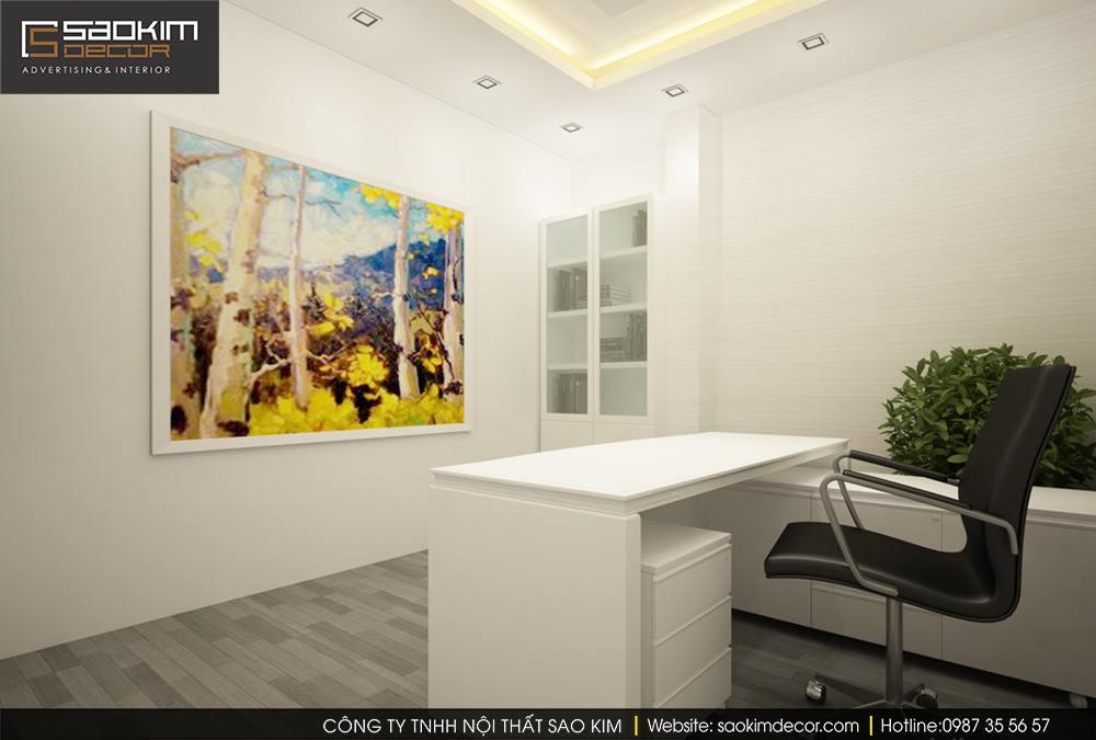 Thiết kế nội thất  văn phòng khám nha khoa