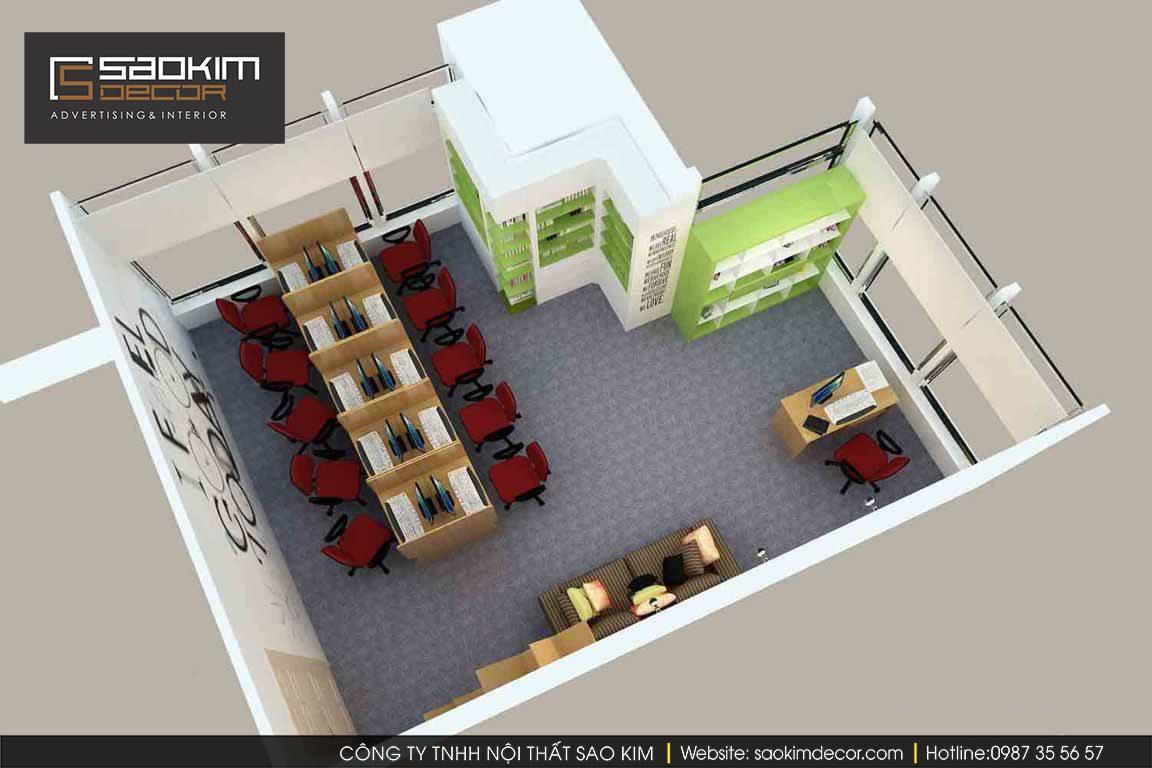 Thiết kế nội thất văn phòng Avy Prep