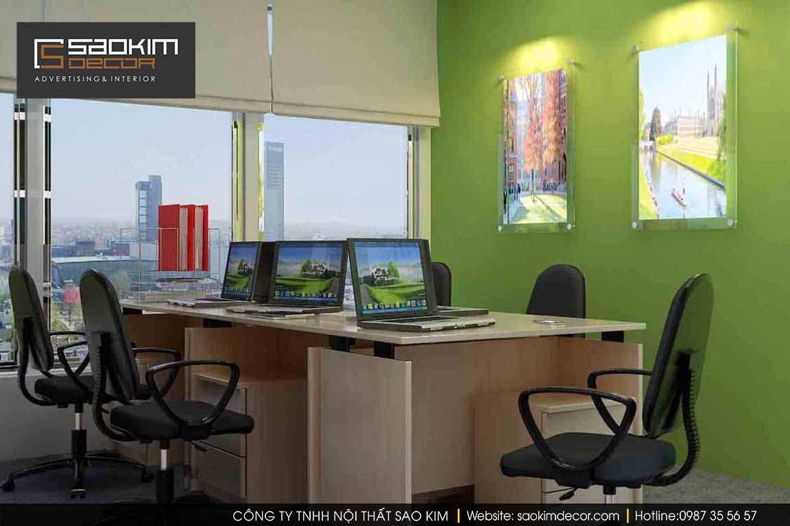 Thiết kế văn phòng hiện đại Avy Prep