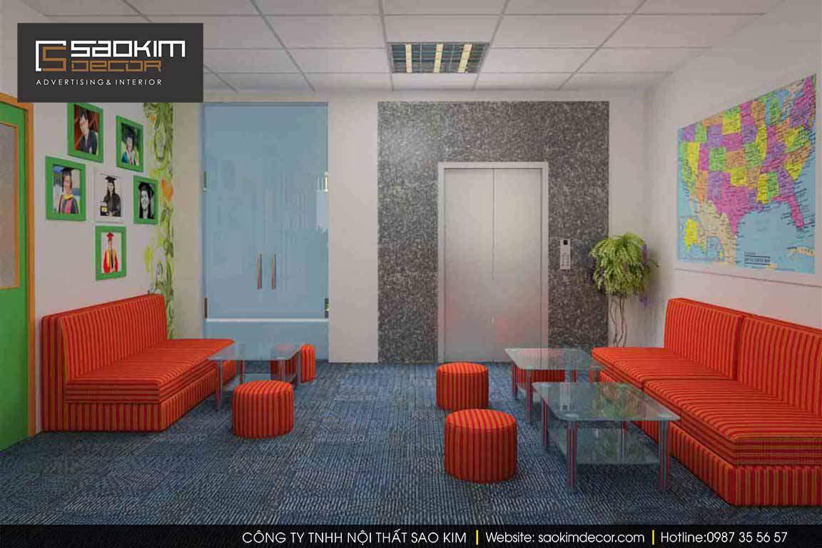 Thiết kế văn phòng xanh Avy Prep