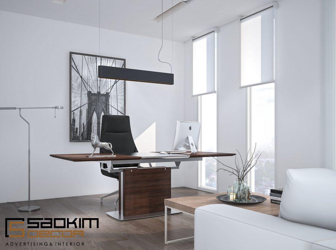 Tận dụng nguồn sáng thiên nhiên trong thiết kế nội thất văn phòng