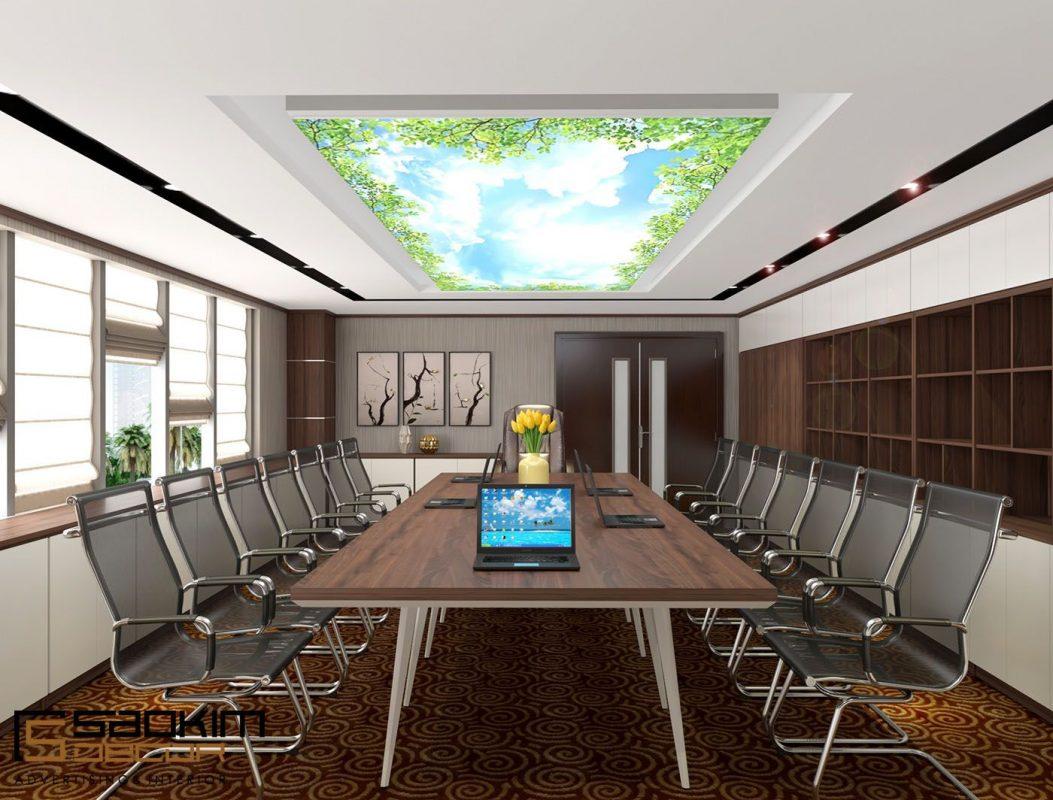 Tùy theo quy mô và ngành nghề của mỗi đơn vị có thể thiết kế nội thất phòng họp theo những phong cách riêng