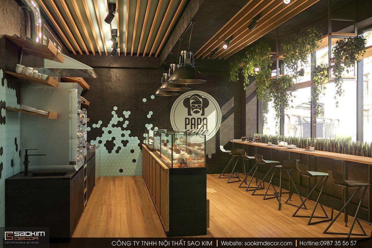 Thiết kế cửa hàng nhỏ gọn, tinh tế và sáng tạo