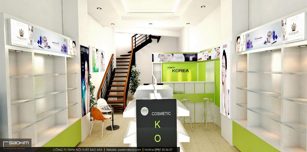Nguyên vật liệu dùng trong showroom cần đảm bảo chất lượng, bền đẹp
