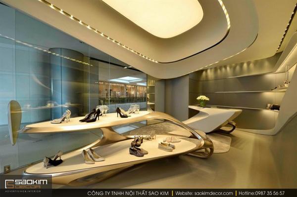 Thiết kế showroom tạo ra cái mới, mang đầy tính sáng tạo