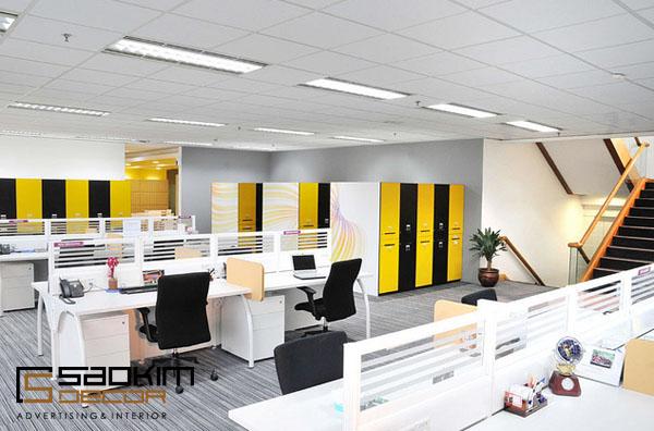Thiết kế nội thất văn phòng làm việc sang trọng, tinh tế