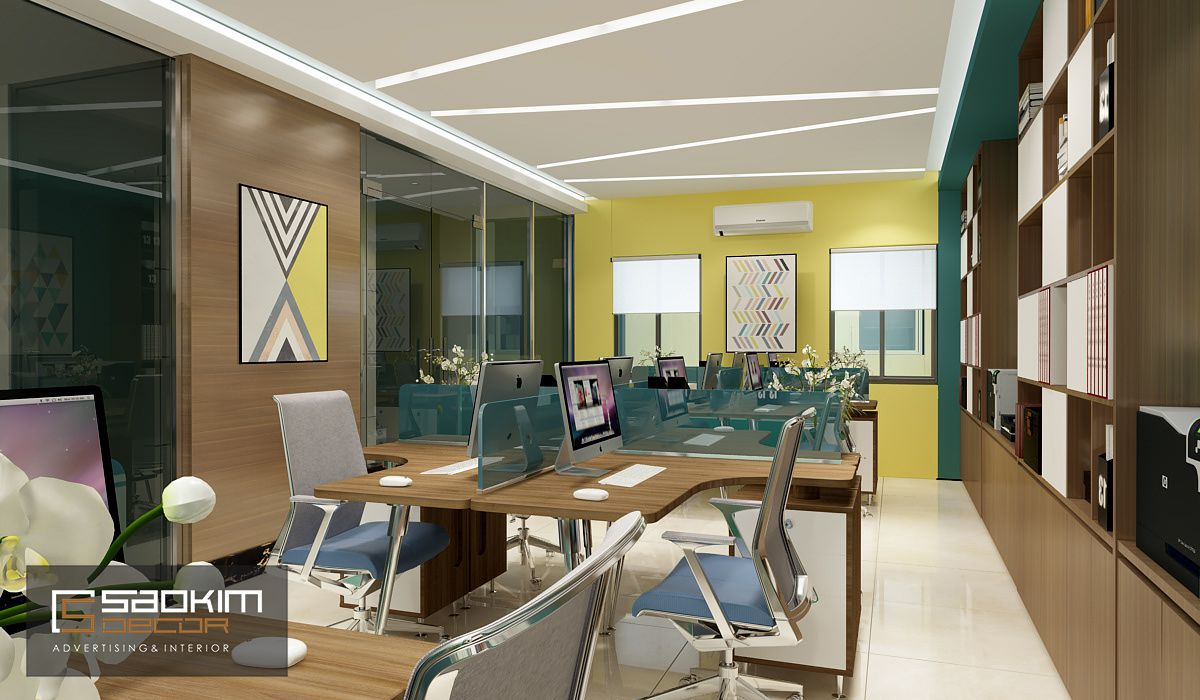 Mỗi doanh nghiệp đều mong muốn có được thiết kế văn phòng mang đậm cá tính thương hiệu