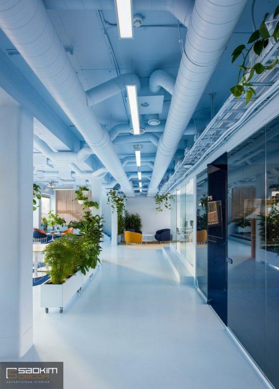 Thiết kế nội thất văn phòng phong cách scandinavian