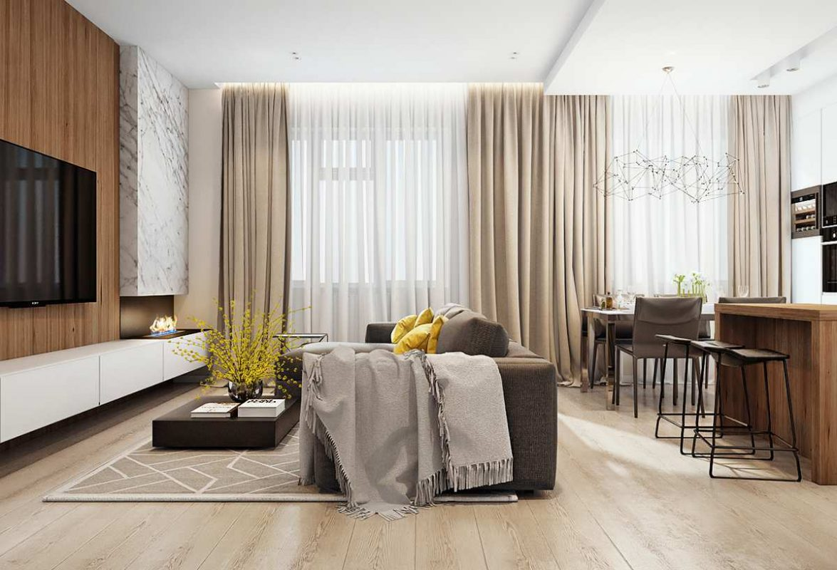 Thiết kế nội thất chung cư cao cấp Golden Land