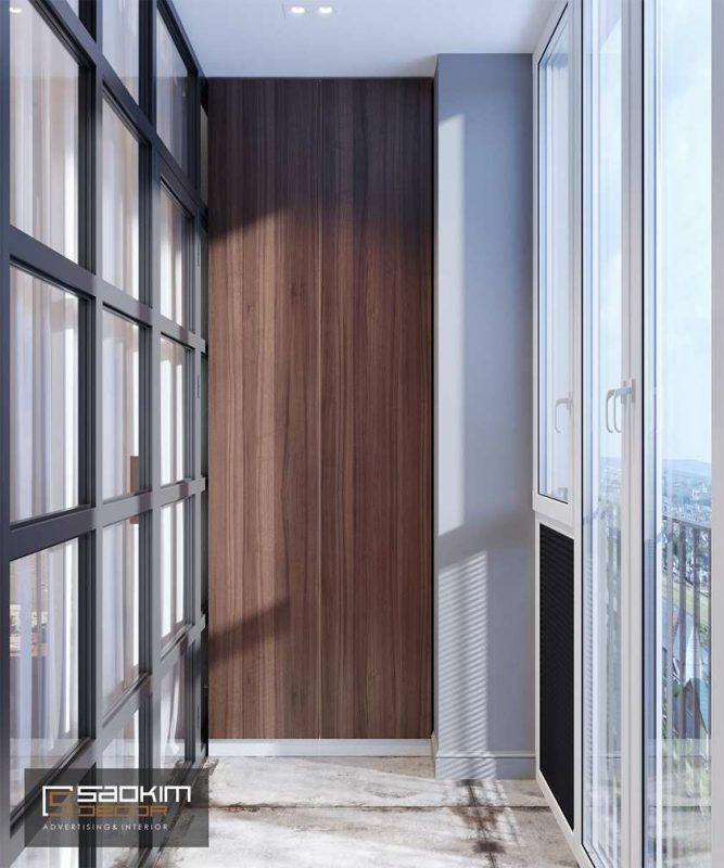 Thiết kế nội thất chung cư hiện đại Golden Land
