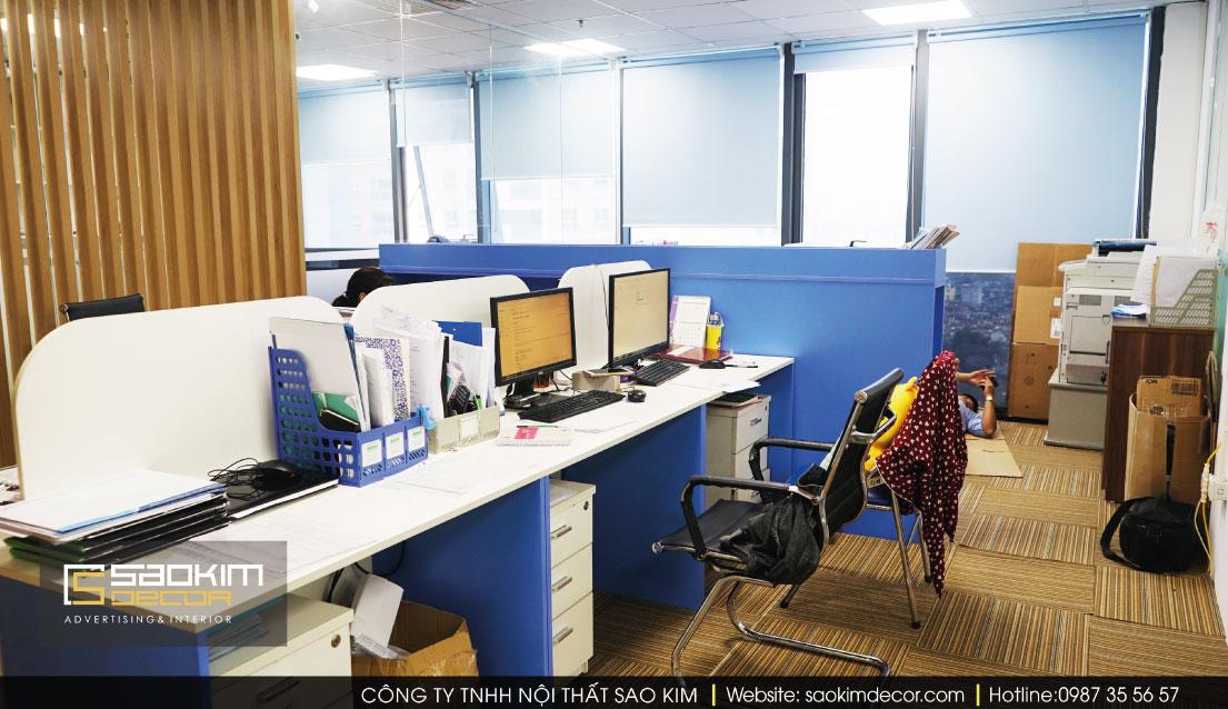 Thiết kế văn phòng xanh công ty Chemedic