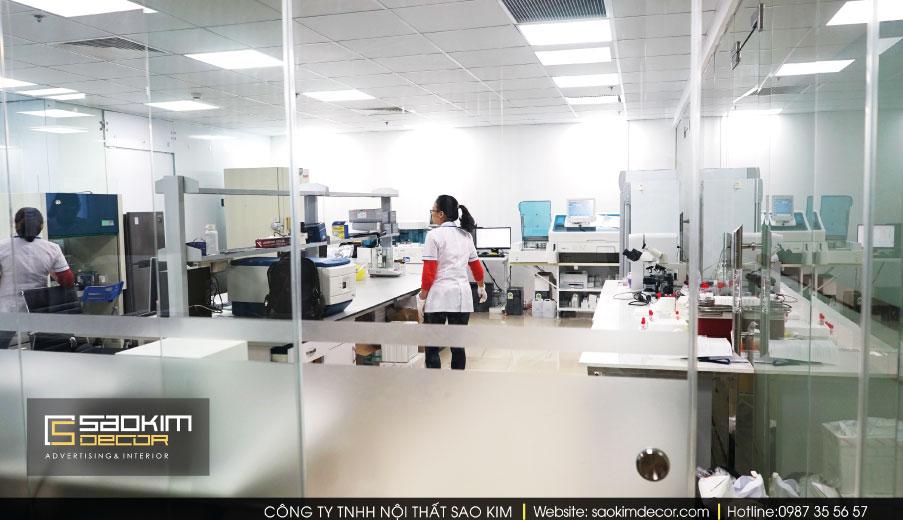 Thiết kế và thi công nội thất văn phòng Chemedic