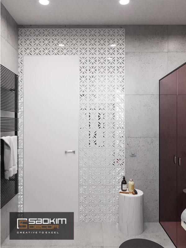 Thiết kế nội thất chung cư 1 phòng ngủ Vinhome D'capitale