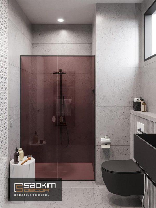 Thiết kế chung cư 1 phòng ngủ Vinhome D'capitale