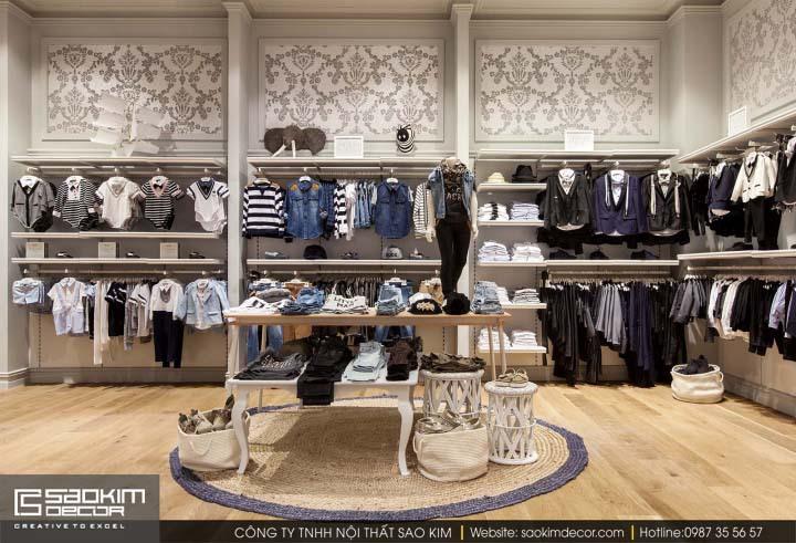 Thiết kế nội thất siêu thị đa dạng theo từng sản phẩm kinh doanh