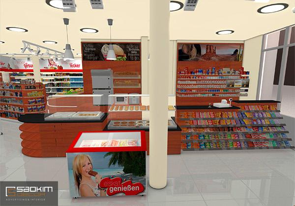 Lựa chọn giá kệ phù hợp khi thiết kế siêu thị