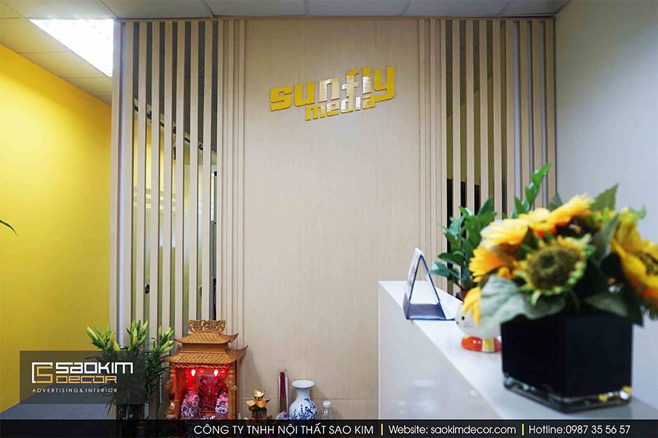Thiết Kế Và Thi Công Nội Thất Văn Phòng Sunmedia 32