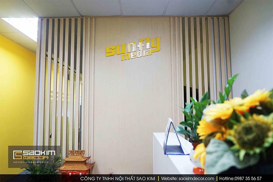 Thiết Kế Và Thi Công Nội Thất Văn Phòng Sunmedia 33