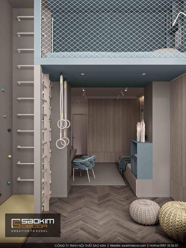 Thiết kế nội thất chung cư Dream Center Home