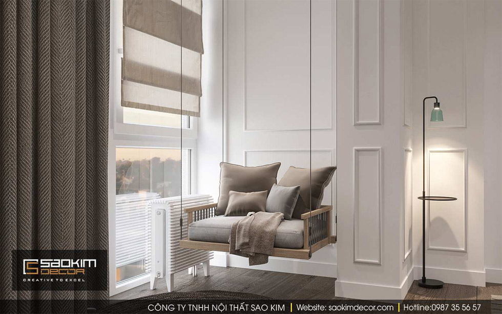 Thiết kế nội thất chung cư Gold Tower Nguyễn Trãi