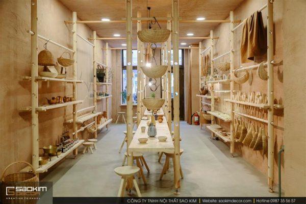 Thiết kế nội thất cửa hàng nhỏ đẹp