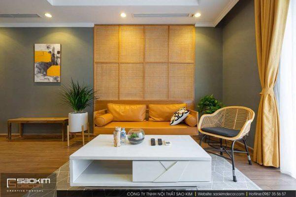 Thiết kế và thi công nội thất chung cư Vinhome Metropilis Liễu Giai