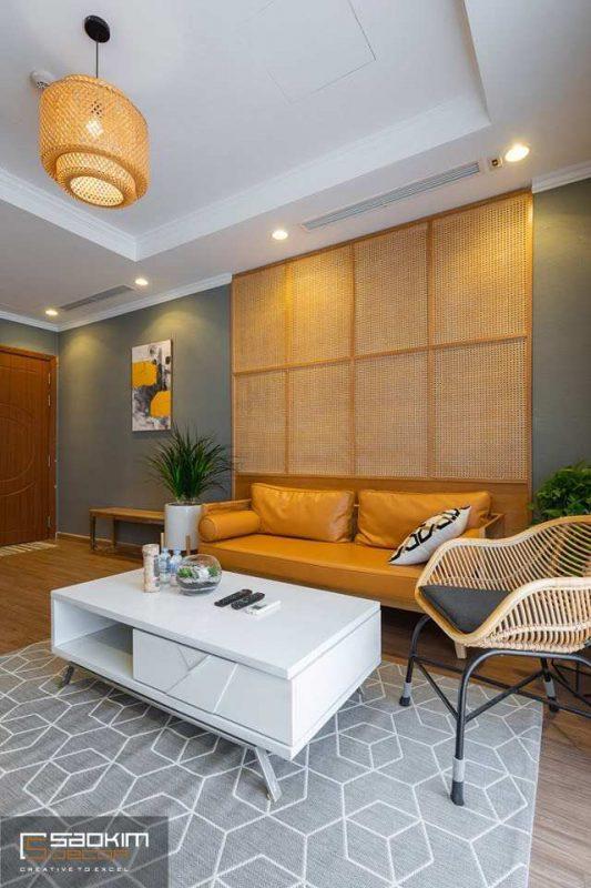 Thiết kế nội thất chung cư hiện đại Vinhome Metropilis Liễu Giai