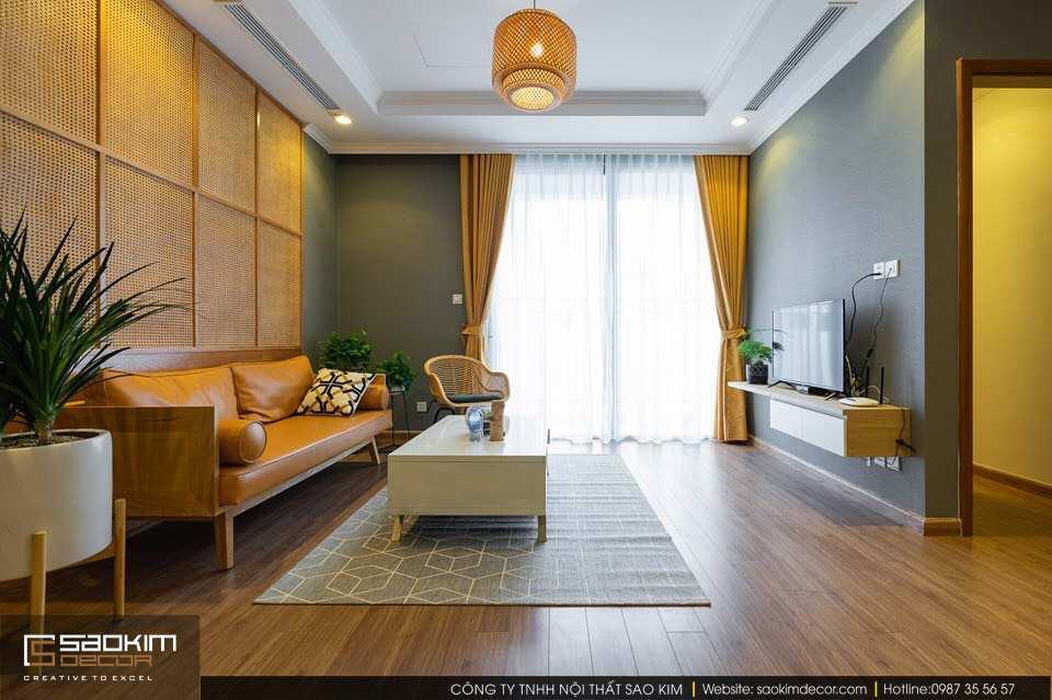 Thiết kế chung cư hiện đại Vinhome Metropilis Liễu Giai