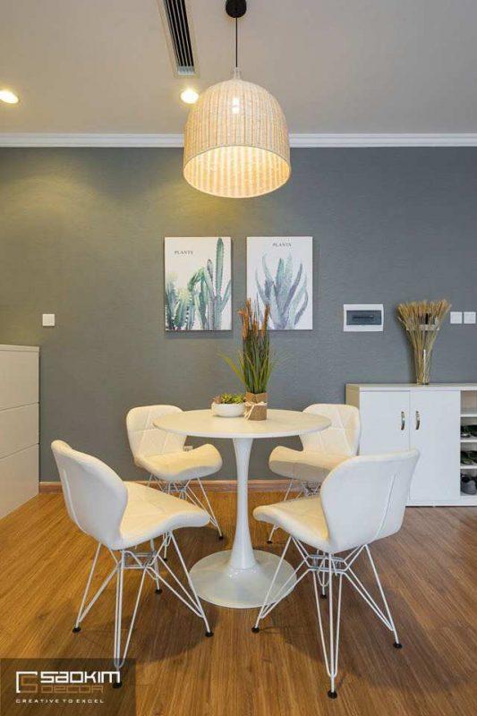 Thiết kế phòng bếp chung cư Vinhome Metropilis Liễu Giai