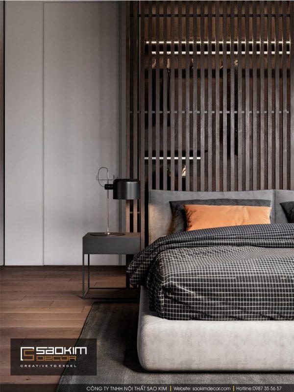 Thiết kế phòng ngủ chung cư Hapulico Complex
