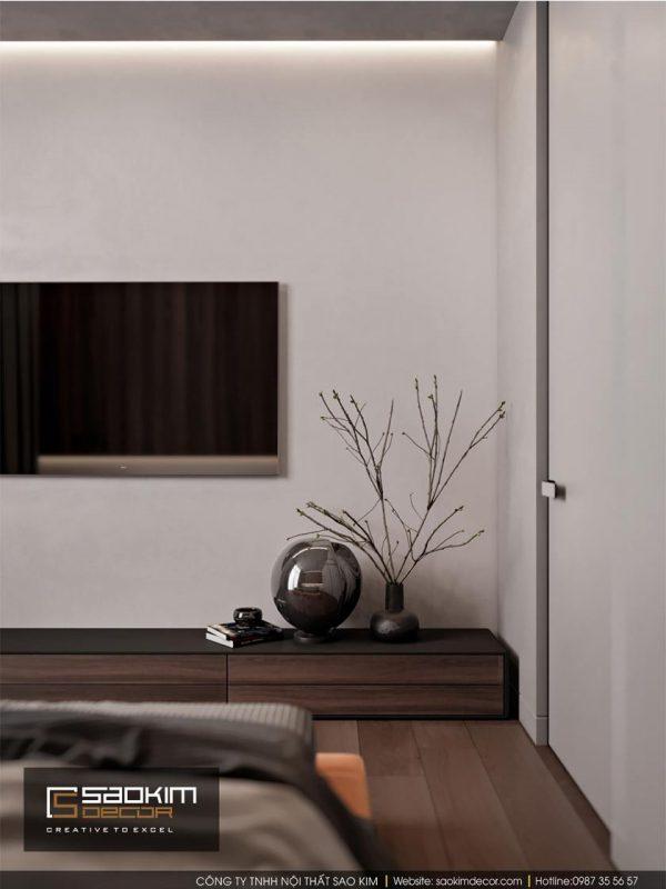 Thiết kế phòng ngủ chung cư - Hapulico Complex