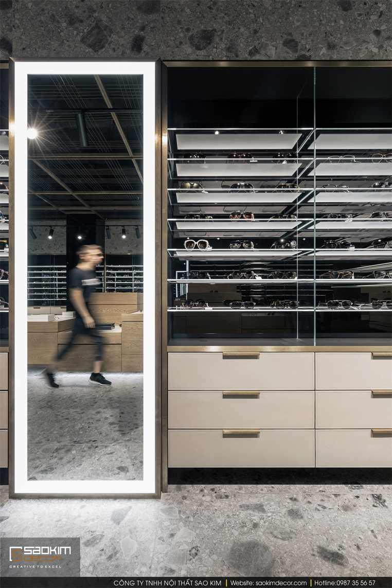 Thiết kế cửa hàng đẹp - cửa hàng kính mắt Spex