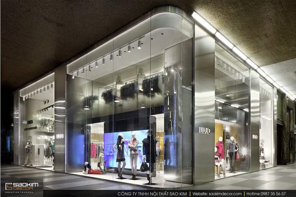 Thiết kế nội thất shop thời trang Liu.jo