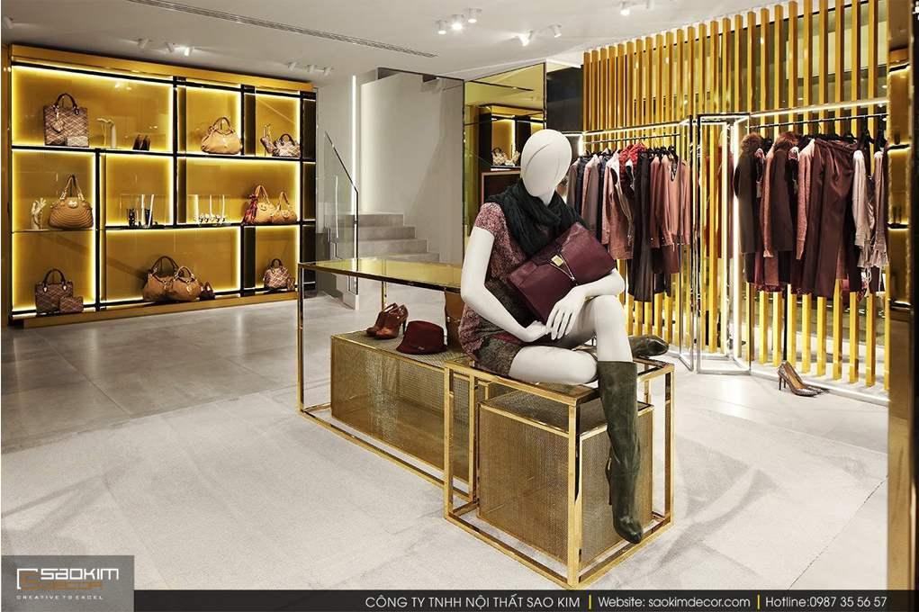 Thiết kế nội thất shop thời trang nữ Liu.jo