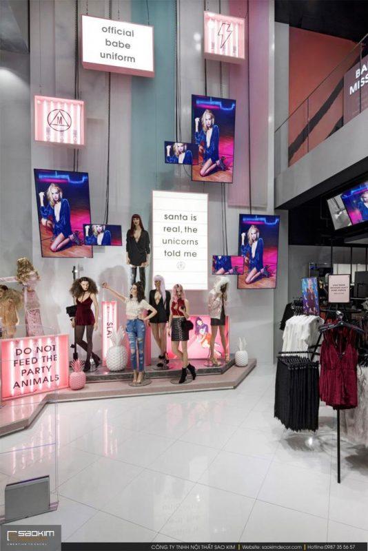 Thiết kế shop thời trang nữ Missguided