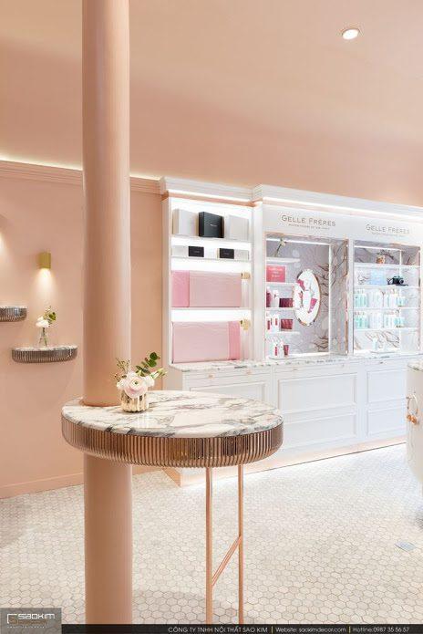 Thiết kế nội thất showroom đẹp Gellé Prères