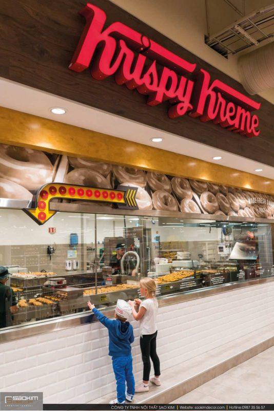 Thiết kế siêu thị đẹp Hagkaup