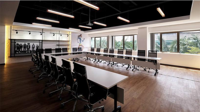 Thiết kế nội thất văn phòng hiện đại Nike